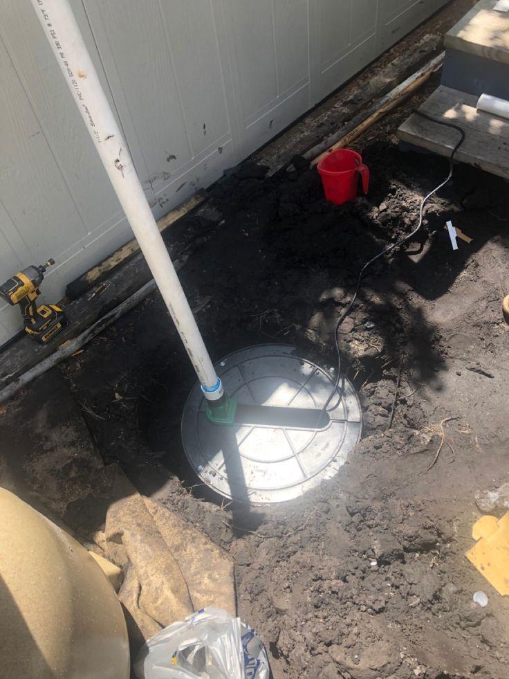 Outdoor Sump Pump in 2020 | Sump pump, Sump, French drain