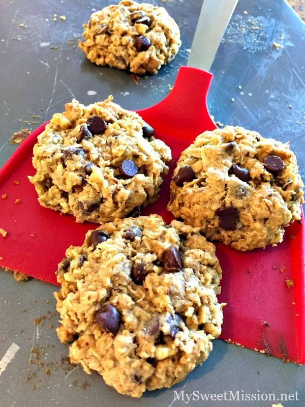 Loaded Oatmeal Cookies are full of chewy, healthy oats, rich semi-sweet chocolate chips, sweet coconut and chopped walnuts. Oh, the combination in these cookies is awesome!