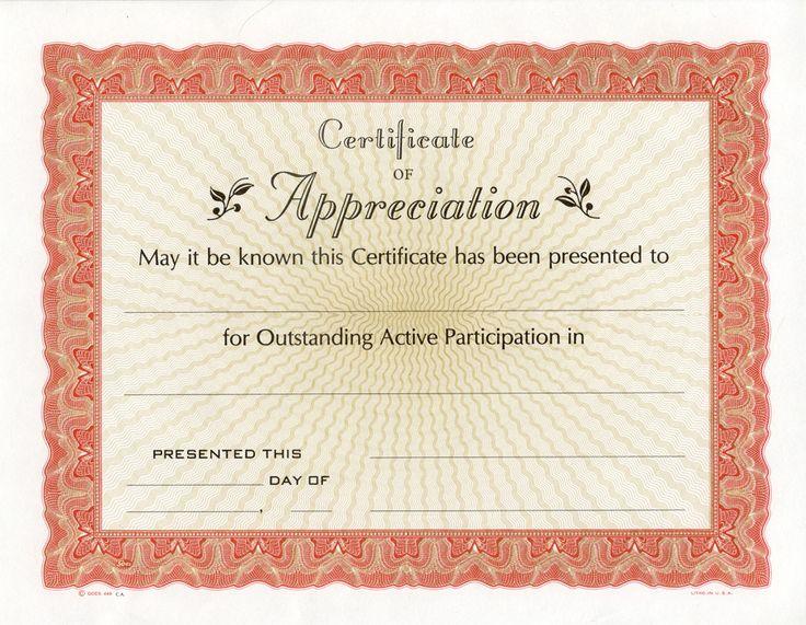 Free Printable Certificate of Appreciation | Certificate of Appreciation