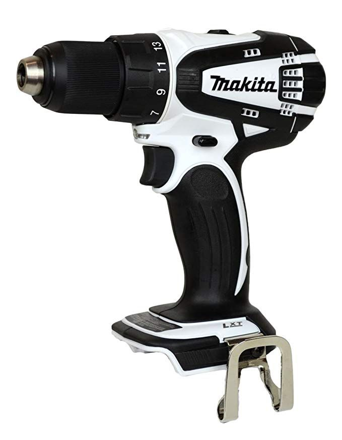 Makita 18v Lxfd01 Lithium Ion White Drill Bare Tool Only No Battery Or Charger Included Review Drill Drill Driver Compact Drill