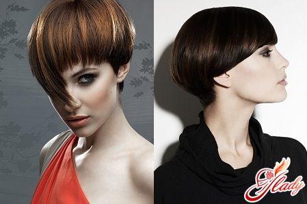 Стрижка «Шапочка» на короткие волосы ....