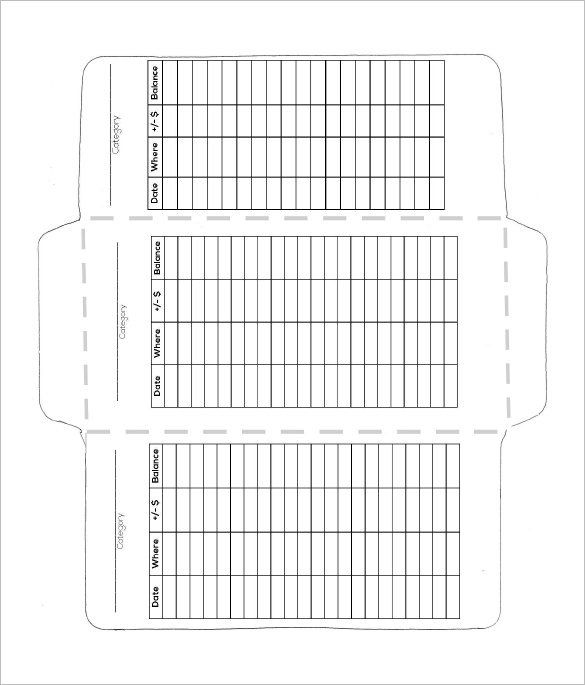 6 Money Envelope Templates Doc Psd Pdf Budget Envelopes