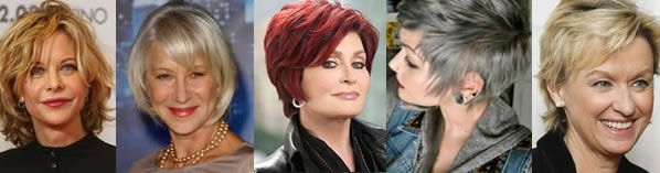 7 useful tips for hairstyles over 40....it is time to admit that I am not only over 40 but I am darn close to 50....SIGH :S