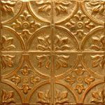 Tin Ceiling Tiles, so many patterns available to choose from. This one I chose for the Kitchen Ceiling.