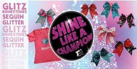 Top off your look with the perfect cheer bow! Victory Cheer Uniforms has bows that are perfect for any game, practice or competition. We provide bows in every color and can create custom #CheerBows to match your uniform! Order online here!!! http://www.victorycheeruniforms.com/cheer-bows-cheerleading-bows-glitz #YouthCheerleadingUniforms