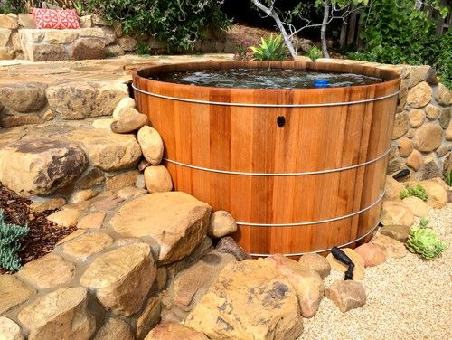 17 Best Images About Wooden Hot Tubs On Pinterest Decks