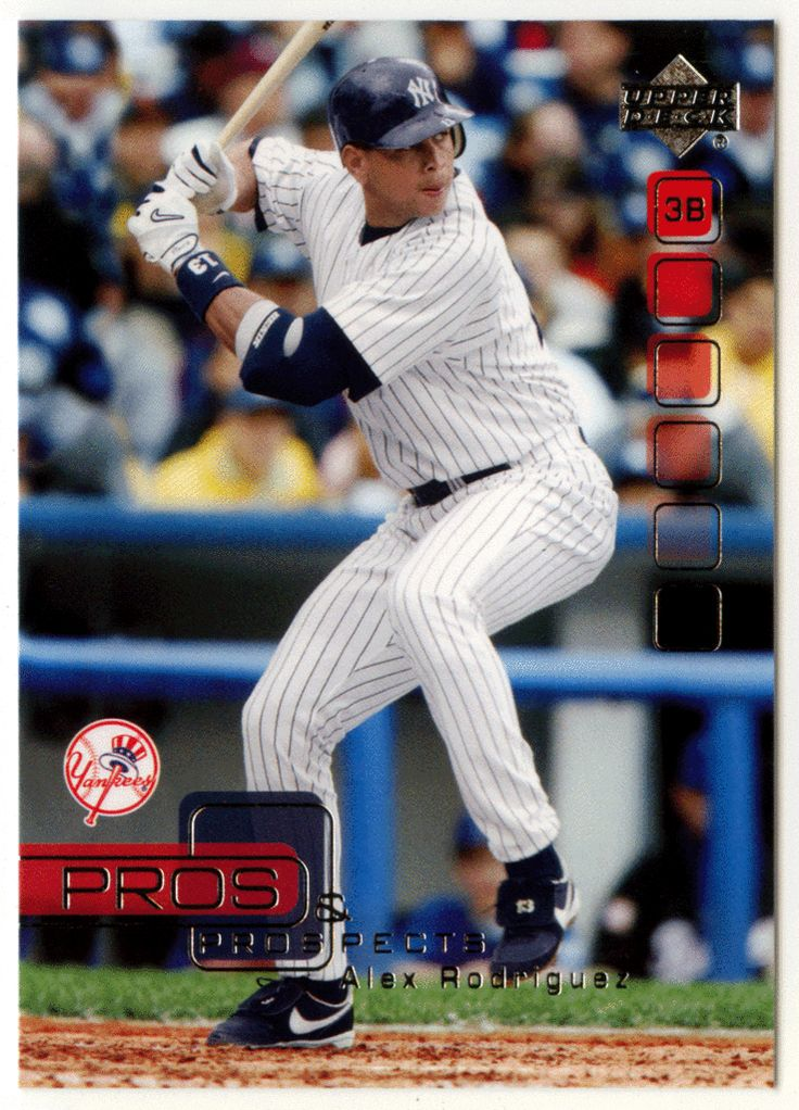 Alex rodriguez 7 2005 upper deck pros and prospects