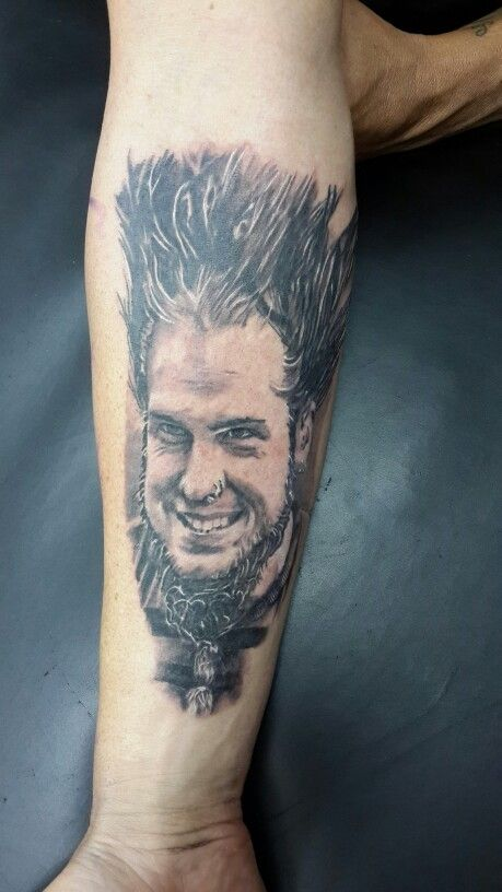 Static X done by Theunis Coetzee at Awhe tattoos