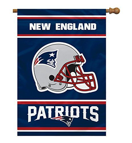 Outdoor Décor-NFL New England Patriots 2Sided 28by40Inch House Banner *** Continue to the product at the image link.