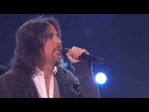 """Foreigner & Nate Ruess perform """"I Want To Know What Love Is"""" on ABC's """"G..."""