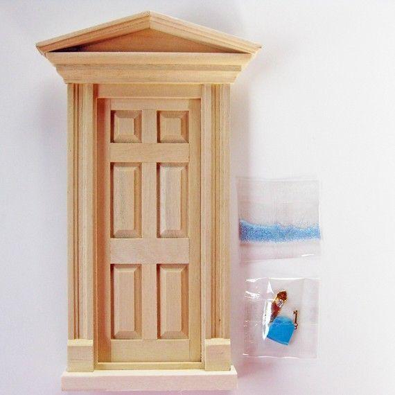 Diy kit fairy door unfinished for Unfinished fairy door