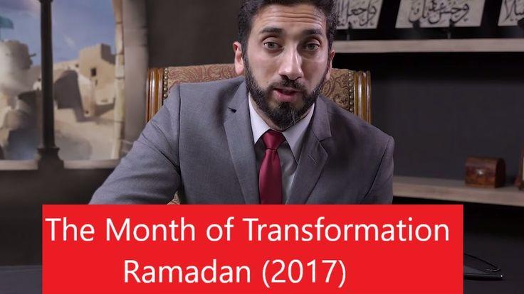 Welcoming Ramadan  (2017) ┇ Nouman Ali Khan [NEW] 2017 ┇Don't be Like Ba...