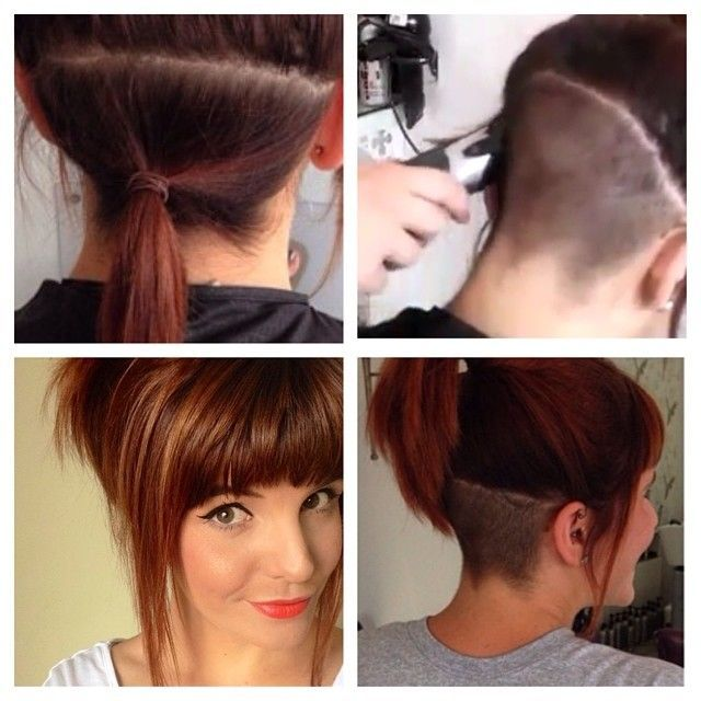 Cool Best 25 Undercut Ponytail Ideas On Pinterest Long Undercut Hairstyles For Women Draintrainus