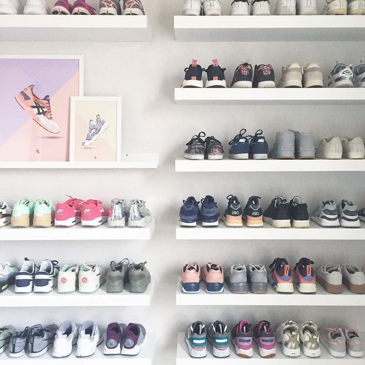 Sneakers Collection – Fantastic sneakers collection by Audrey Mayer   – Möbel und Dekoration.