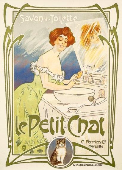 Marca francesa de jabones de principios del siglo XX.