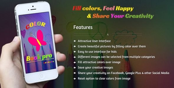"Purchase the source code of our ""Color Book Pro - Image coloring"" iOS app only in $16."