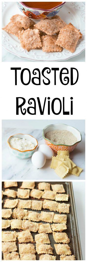 Toasted Ravioli on www.cookingwithruthie.com is a kid-friendly snack that will disappear in the blink of an eye!