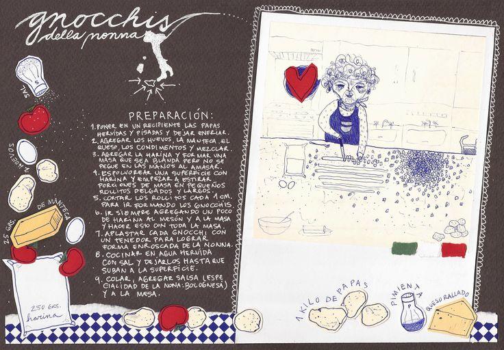 gnocchis | iChu.ilustradora