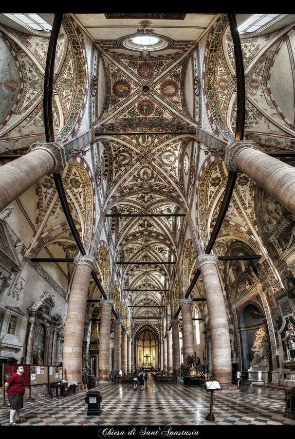 Verona, Chiesa di Sant'Anastasia - by erhan sasmaz, via 500px