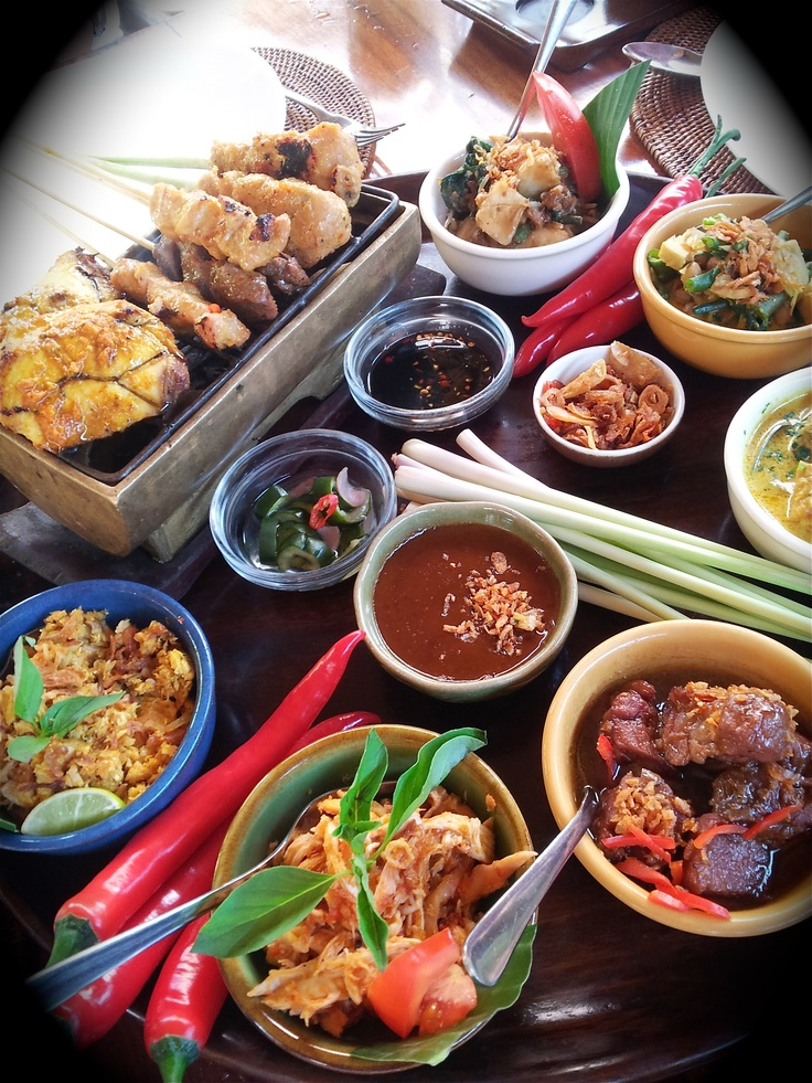 Balinese Food in Nusa Dua Bali