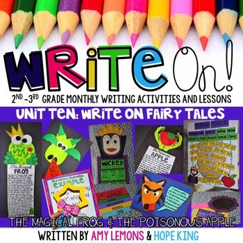Write On! Unit 10: Fairy Tales {Monthly Writing Activities