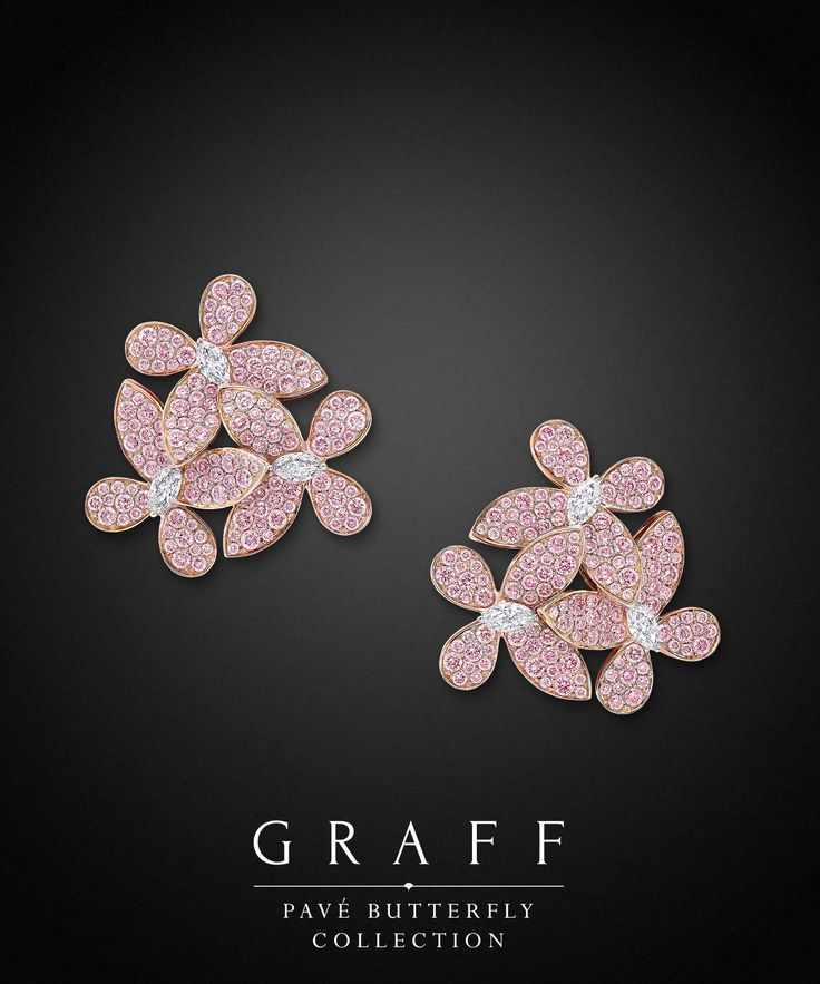 Graff Pink Diamond Pave Blossom Earrings Saved For Future Outfits In Gabrielle S Amazing Fantasy Closet
