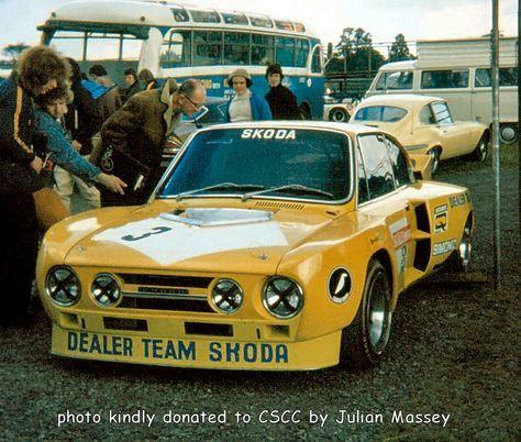 70s Super Saloons - Special Saloon Racing John Turner Skoda 1974