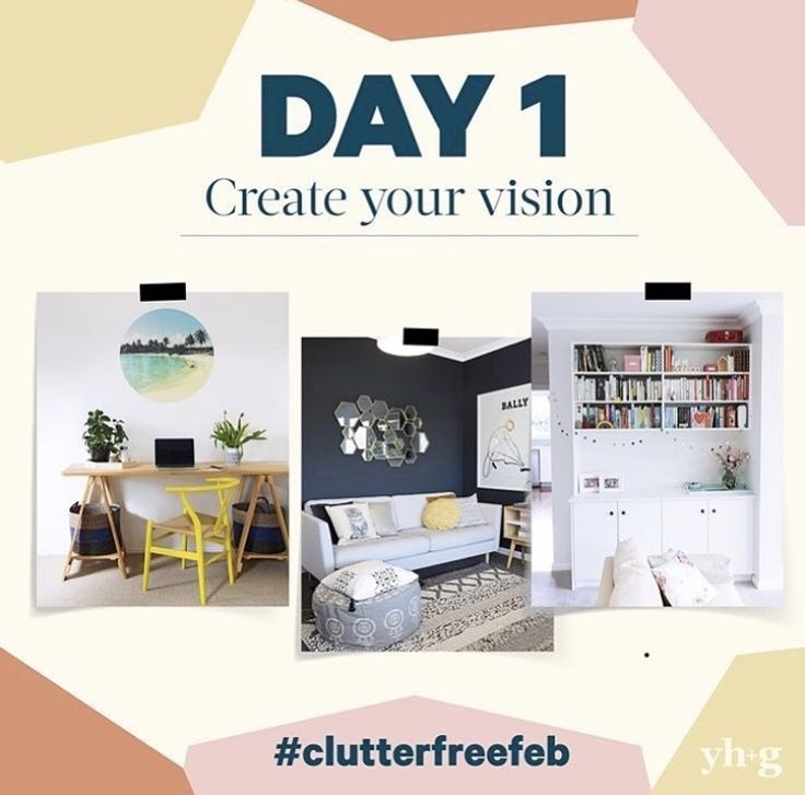This February, I collaborated with Your Home and Garden and wrote a '28 Days to Organise Your Home' #clutterfreefeb. Pop over to Be Organised's Instagram feed to catch up and be inspired!