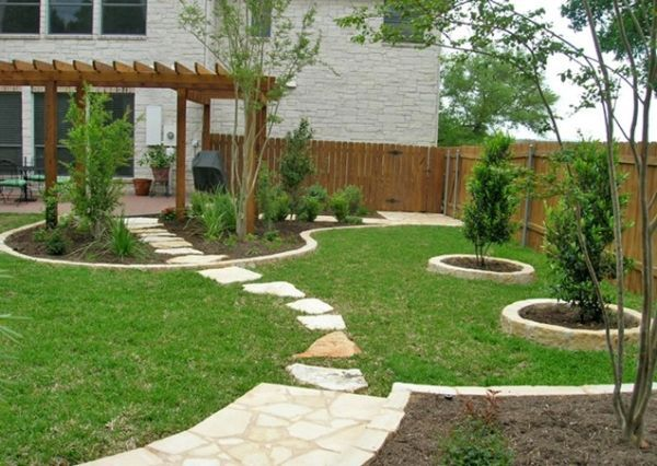 30 Wonderful Backyard Landscaping Ideas. This would be a great path to the hot tub.