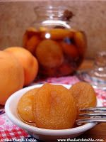 The Dutch Table: Boerenmeisjes (Dutch Brandied Apricots)