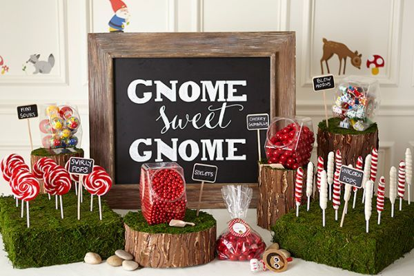 Gorgeous woodland party, so many cute details. #event #events #party #woodland #forest #gnome #elf #animals #magical #magic #toadstools #red #white #ferns #tablesetting #tablescape #desserts #dessertbar #desserttable #lollipops #lollies #candy
