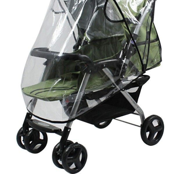 Qualified Raincoat For A Stroller Universal Strollers Pushchairs Baby Carriage Waterproof Dust Rain Cover Windshield Stroller Accessories Mother & Kids Activity & Gear