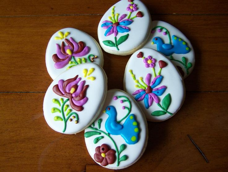 Hungarian Folk Art Eggs | Cookie Connection
