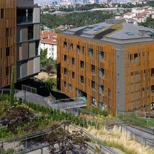 Ulus Savoy Housing by DS Architecture – Landscape