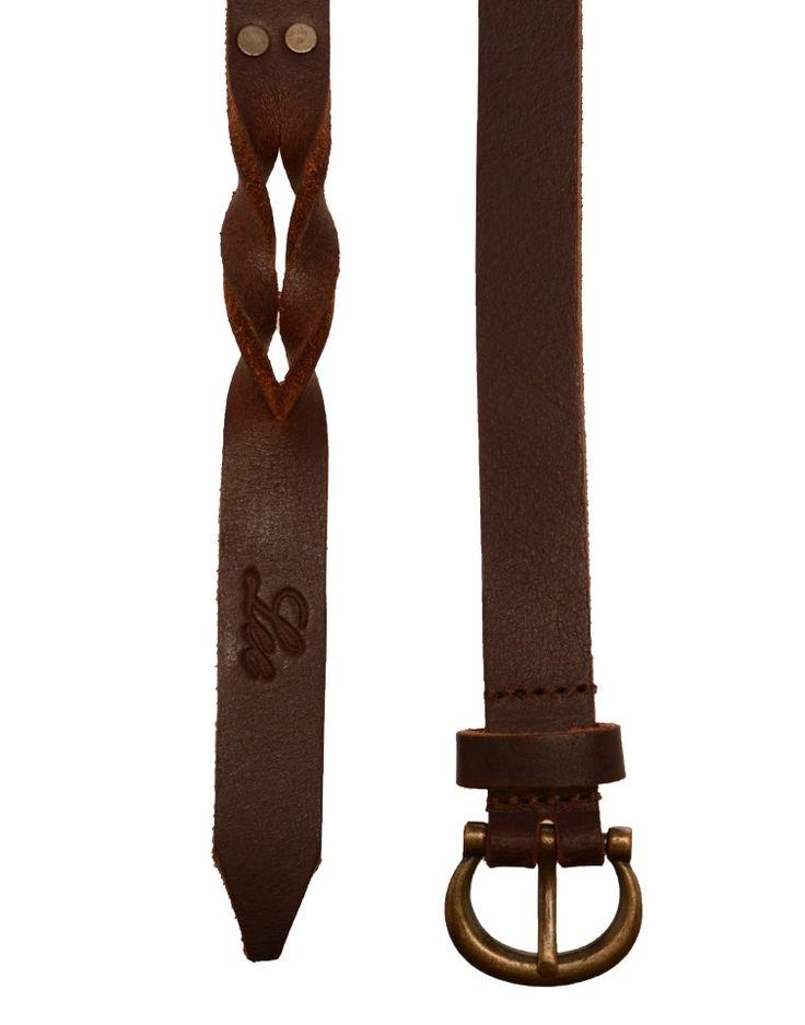 LEE   Twisted Sister Belt in Cinnamon - Women - Style36