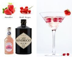 Hendrick's Rose Cocktail Recept
