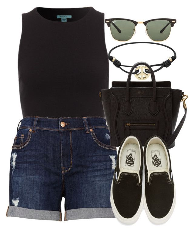 """""""Sin título #12848"""" by vany-alvarado ❤ liked on Polyvore featuring Mulberry, Melissa McCarthy Seven7, Vans and Ray-Ban"""