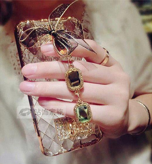 Luxus-Diamant-Armband mit der Lesbieschleife Telefon Case für Iphone6/6s/6plus