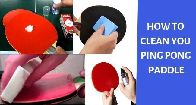 How To Clean A Ping Pong Paddle Ping Pong Paddles Ping Pong Cleaning