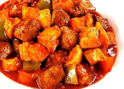 Pork Menudo Recipe http://www.pinoyrecipe.net/pork-menudo-recipe/