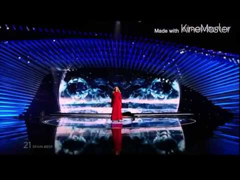 eurovision video edurne 2015