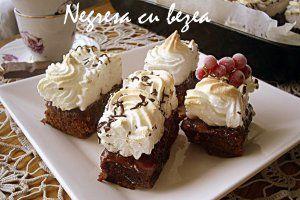 Reteta culinara Negresa cu bezea -  400   Bucataras