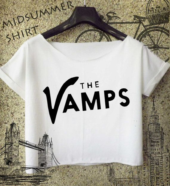 Hey, I found this really awesome Etsy listing at https://www.etsy.com/listing/186669544/the-vamps-shirt-the-vamps-tumblr-cropped