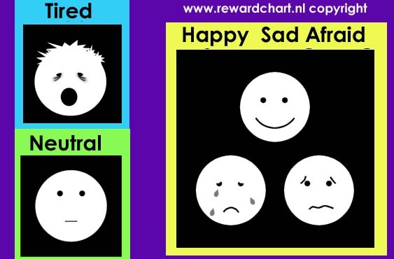 Here you find different free printable emotion cards with pictograms of emotions you can use to teach children to recognize and name emotions.
