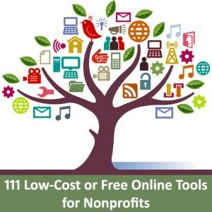 111-Online-Tools-for-Nonprofits - Tried any of these? If so, please comment and let us know what you like (or don't like).