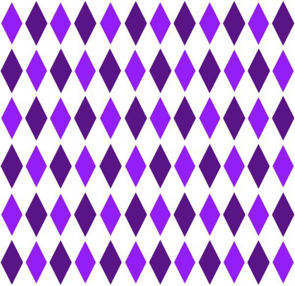 Brown Orange Retro Diamond Pattern 1 - vector Clip Art