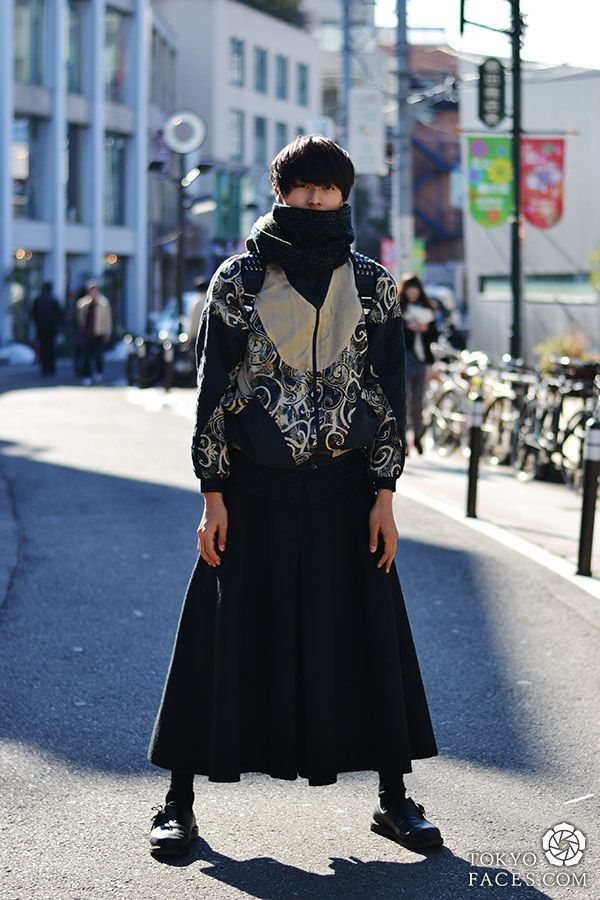 Skirt-Pants Hybrid for Men 2013 | Japanese fashion and Tokyo street style - Tokyofaces.com