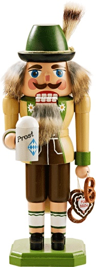 Bavarian Nutcracker. I have this one. one of many I put up at Christmas time. some I have out year round.