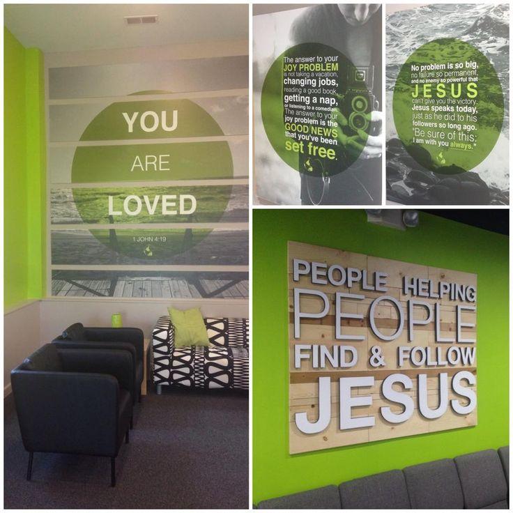 church lobby art more youth ministry roomyouth roomsministry - Modern Church Interior Design Ideas
