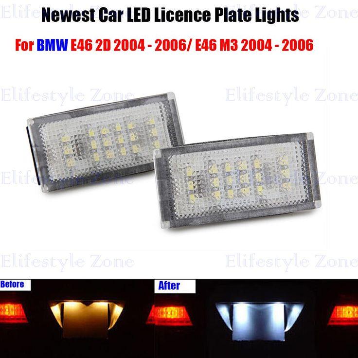 $11.95 (Buy here: https://alitems.com/g/1e8d114494ebda23ff8b16525dc3e8/?i=5&ulp=https%3A%2F%2Fwww.aliexpress.com%2Fitem%2F2-x-LED-Number-License-Plate-Lamps-OBC-Error-Free-18-LED-For-BMW-E46-2D%2F32467747194.html ) 2 x LED Number License Plate Lamps OBC Error Free 18 LED For BMW E46 2D E46 M3 2004 - 2006 for just $11.95